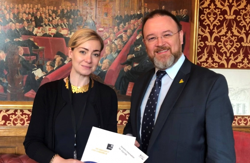 david duguid with baroness blackwood