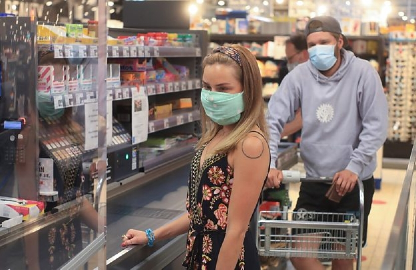 face coverings compulsory in shops