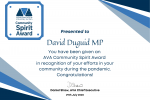 david duguid volunteering award